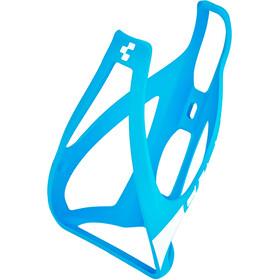 Cube HPP Flaskeholder, matte blue/white